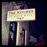 Photo taken at The Kitchen At Rock Hall by Gman L. on 5/8/2013
