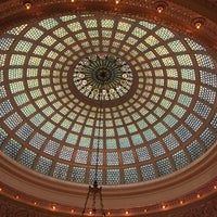 Photo taken at Tiffany Dome At The Chicago Cultural Center by Ale P. on 9/17/2016