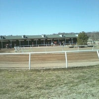 Photo taken at Cherokee Casino Will Rogers Downs by Debbie B. on 3/4/2013