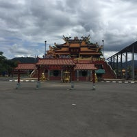 Photo taken at Chinese Temple Kinarut by Kim D. on 11/11/2017