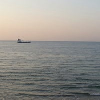 Photo taken at Solar Beach by Ercan C. on 7/14/2013