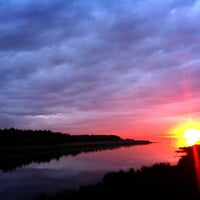 Photo taken at Набережная Финского залива by Annie on 5/26/2013