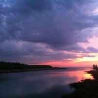 Photo taken at Набережная Финского залива by Annie on 5/19/2013