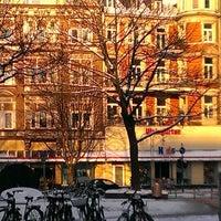 Photo taken at Friesenplatz by Francesca B. on 3/13/2013