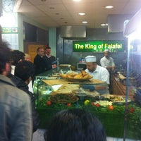 Photo taken at The King Of Falafel by Peter H. on 11/22/2012