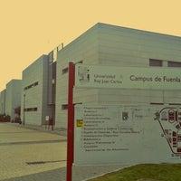 Photo taken at Universidad Rey Juan Carlos (Campus Fuenlabrada) by Carlos Q. on 1/9/2013