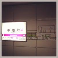 Photo taken at Nakazakicho Station (T19) by GAR@Osaka on 3/2/2013