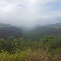 Photo taken at Hanapepe Canyon Lookout by Séverine G. on 5/25/2017
