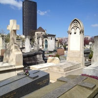 Photo taken at Montparnasse Cemetery by Séverine G. on 4/20/2013