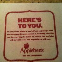 Photo taken at Applebee's Neighborhood Grill & Bar by Kristi S. on 12/17/2012
