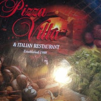 Photo taken at Pizza Villa by Kristi S. on 7/12/2013