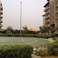 Photo taken at Commonwealth Games Village Delhi 2010 by Rohan S. on 12/13/2012