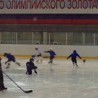 Photo taken at Хоккейный центр Амур by Детектив Ч. on 10/30/2013