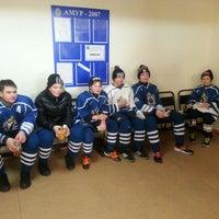 Photo taken at Хоккейный центр Амур by Детектив Ч. on 1/7/2013