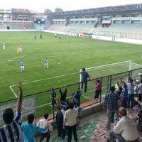 Photo taken at Maltepe Hasan Polat Stadı by Eren K. on 9/21/2013