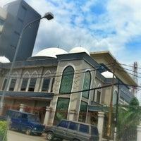 Photo taken at Masjid Al Hasanah by lutfi m. on 12/7/2012