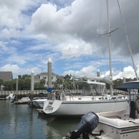 Photo taken at Isle of Palms Marina by SuZSie S. on 7/20/2013