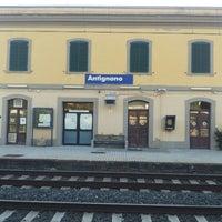 Photo taken at Stazione Antignano by Claudia G. on 6/21/2014