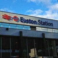Photo taken at London Euston Railway Station (EUS) by Trevor B. on 3/3/2013