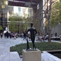 Photo taken at MoMA Sculpture Garden by Evgeny A. on 4/27/2013