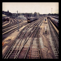 Photo taken at Clapham Junction Railway Station (CLJ) by Viral O. on 5/19/2013