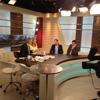 Photo taken at Herzliya Studios by Eliran M. on 1/5/2014
