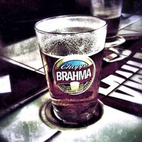 Photo taken at Quiosque Chopp Brahma by Nicolas D. on 5/14/2013