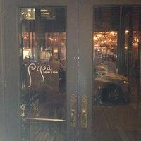 Photo taken at Pipa Tapas Bar by Kvan S. on 12/14/2012