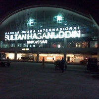 Photo taken at Sultan Hasanuddin International Airport (UPG) by Riris B. on 7/16/2013