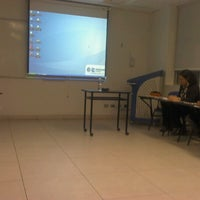 Photo taken at Classroom 408 -Idiomas Católica by Vicky V. on 12/18/2012