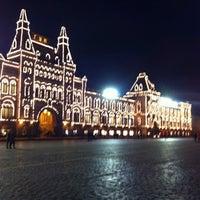 Снимок сделан в ГУМ пользователем Andrey G. 4/6/2013
