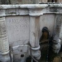 Photo taken at Fontana della Pigna by Iryna K. on 5/17/2013