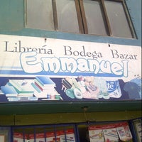 "Photo taken at Librería Bodega & Bazar ""Emmanuel"" by Carlos S. on 9/12/2013"