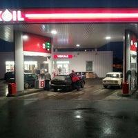 Photo taken at Lukoil Bauska by Sergey S. on 11/23/2011