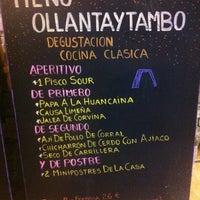 Foto tomada en Restaurante Tampu por Julio G. el 12/16/2012