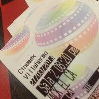 Photo taken at Cinemex by René D. on 3/28/2013