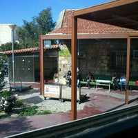 Photo taken at Heraklion Up-Country Public Bus Station by Renia P. on 3/15/2013