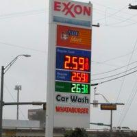 Photo taken at Exxon by Luhdzarmy 1. on 6/17/2015
