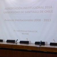 Photo taken at Salón de Honor - Universidad de Santiago de Chile by dani z. on 6/5/2013