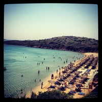 Photo taken at Golden Beach by Athina K. on 7/31/2013