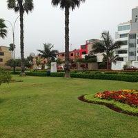 Photo taken at Parque Mahatma Gandhi by Fernando N. on 2/28/2013