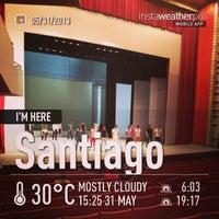 Photo taken at Gran Teatro del Cibao by George M. on 5/31/2013