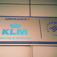 Photo taken at KLM Maintenance And Engineering Office by Prevind J. on 12/14/2012
