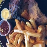 Photo taken at Backyard Rotisserie Chicken by Annie N. on 10/24/2014