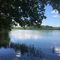 Photo taken at Burke Lake by Annie N. on 6/3/2017