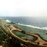 Photo taken at Jeddah Hilton Executive Lounge by Yasmin on 3/18/2013