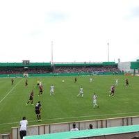 Photo taken at FRIMO Stadion by Maria K. on 8/8/2015