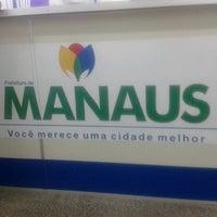 Photo taken at Prefeitura Municipal de Manaus by Ricardo M. on 12/18/2012
