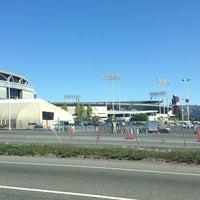 Photo taken at Oakland Coliseum Flea Market by Amethyst R. on 10/5/2013