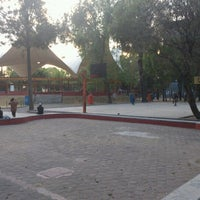 Photo taken at Canchas de La Paz by Quinatzin A. on 2/11/2013